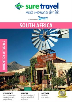 Travel offers in the Sure Travel catalogue in Soweto ( More than a month )