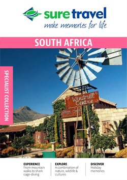 Travel offers in the Sure Travel catalogue in Port Elizabeth ( More than a month )