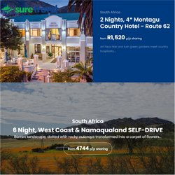 Christmas offers in the Sure Travel catalogue ( 28 days left)