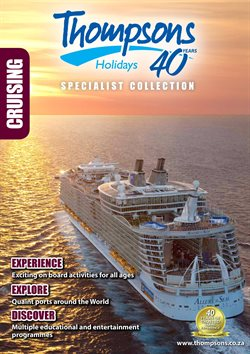 Travel offers in the Thompsons catalogue in Cape Town