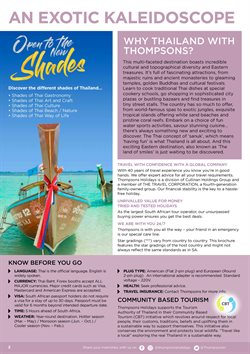 Tours offers in the Thompsons catalogue in Cape Town