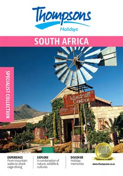 Travel offers in the Thompsons catalogue in Cape Town ( More than a month )