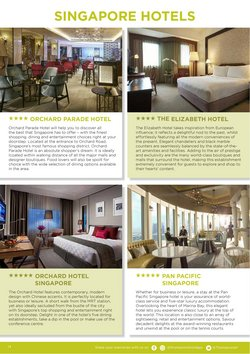 Hotels specials in Thompsons