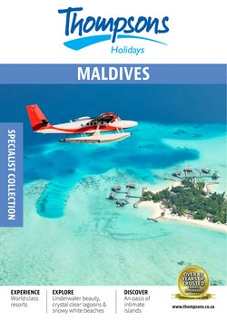 Travel offers in the Thompsons catalogue ( More than a month)