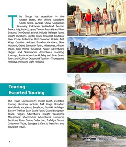 European tours offers in the Thompsons catalogue in Cape Town