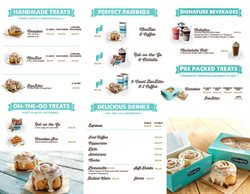 Cinnabon catalogue in Durban ( More than a month )