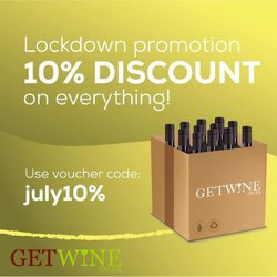 GETWINE offers in the GETWINE catalogue ( 3 days left)