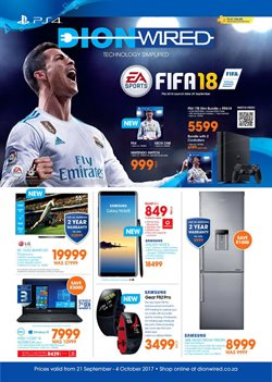 Xbox One offers in the Dion Wired catalogue in Cape Town