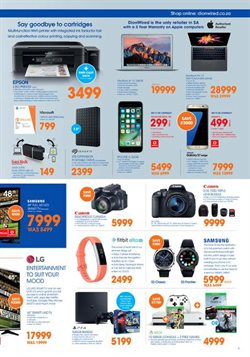 Smart watch offers in the Dion Wired catalogue in Cape Town