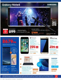 Samsung Galaxy offers in the Dion Wired catalogue in Cape Town