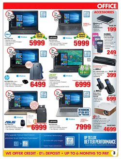 Calculator offers in the HiFi Corp catalogue in Cape Town
