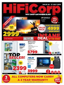 HiFi Corp deals in the Johannesburg special
