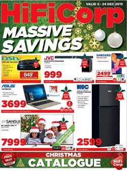 HiFi Corp deals in the Durban special