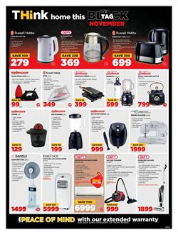 Russell Hobbs specials in HiFi Corp