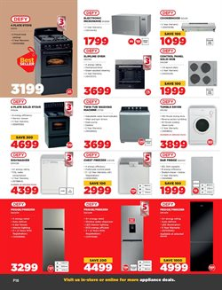 Dryer specials in HiFi Corp