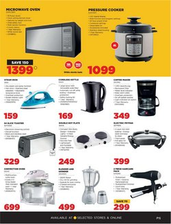 Coffee maker specials in HiFi Corp