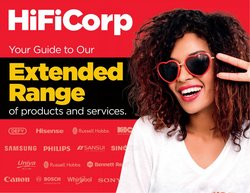 Electronics & Home Appliances offers in the HiFi Corp catalogue ( 5 days left)