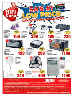 Air conditioner offers in the HiFi Corp catalogue in Klerksdorp