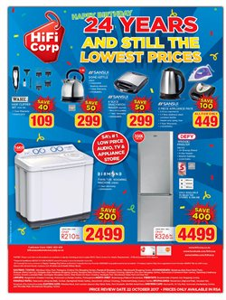 Apparel offers in the HiFi Corp catalogue in Cape Town