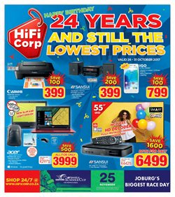 HiFi Corp deals in the Pretoria special
