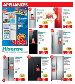 Hisense offers in the HiFi Corp catalogue in Cape Town