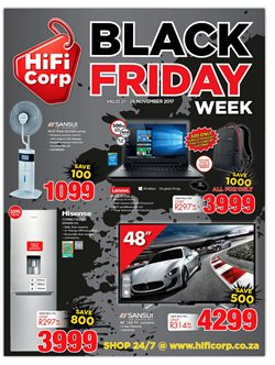 Electricals & Home Appliances offers in the HiFi Corp catalogue in Khayelitsha