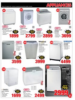 Washing machine offers in the HiFi Corp catalogue in Cape Town