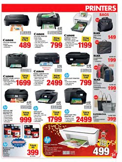 Printer offers in the HiFi Corp catalogue in Cape Town