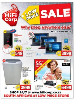 HiFi Corp deals in the Brackenfell special