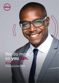 Banks & Insurances offers in the Absa Bank catalogue ( 5 days left)