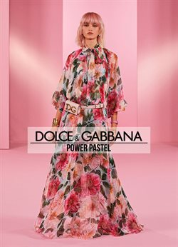 Luxury brands offers in the Dolce & Gabbana catalogue ( More than a month)
