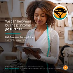 Banks & Insurances offers in the FNB catalogue ( More than a month )