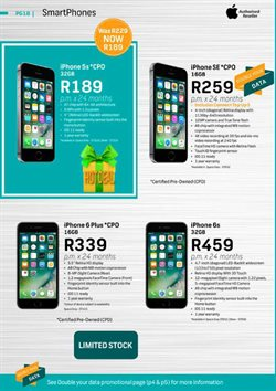 IPhone 6 offers in the FNB catalogue in Cape Town