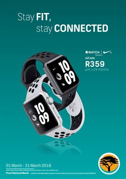 Banks offers in the FNB catalogue in Cape Town