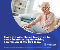 Banks & Insurances offers in the Bidvest Bank catalogue ( 16 days left)
