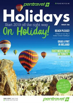 Travel offers in the Pentravel catalogue in Khayelitsha