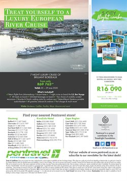 Cruises specials in Pentravel