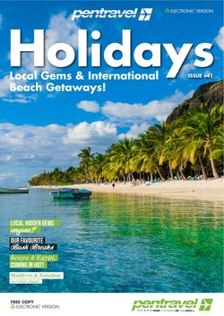 Travel offers in the Pentravel catalogue ( 4 days left)