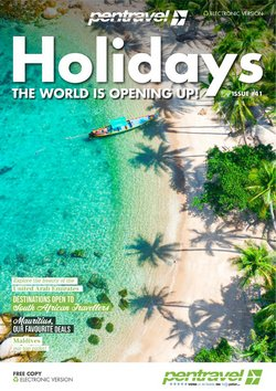 Travel offers in the Pentravel catalogue ( 5 days left)