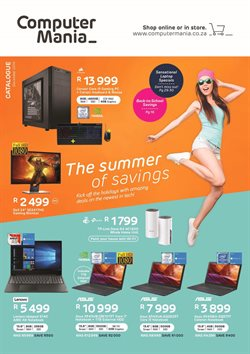 Electronics & Home Appliances offers in the Computer Mania catalogue in Cape Town