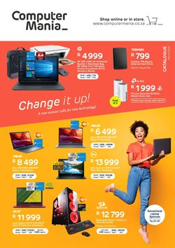 Laptop specials in Computer Mania