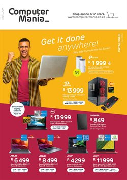 Electronics & Home Appliances offers in the Computer Mania catalogue in Cape Town ( 20 days left )
