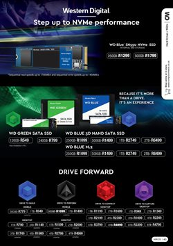 External hard drive specials in Computer Mania