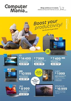 Electronics & Home Appliances offers in the Computer Mania catalogue ( 1 day ago )