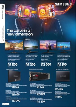 Samsung offers in the Computer Mania catalogue ( Expires today)