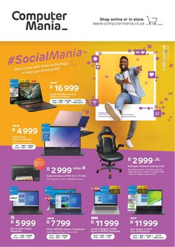 Electronics & Home Appliances offers in the Computer Mania catalogue ( 1 day ago)
