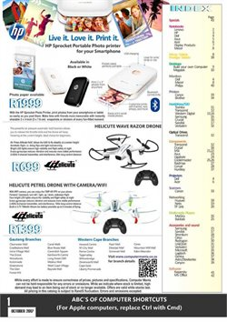 Toy vehicles offers in the Computer Mania catalogue in Cape Town