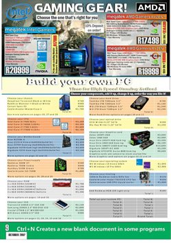 Computing accessories offers in the Computer Mania catalogue in Cape Town