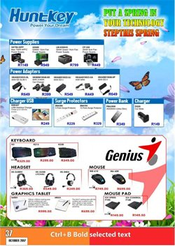 Chargers offers in the Computer Mania catalogue in Cape Town