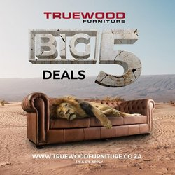 Home & Furniture offers in the True Wood Furniture catalogue in Brits ( 6 days left )